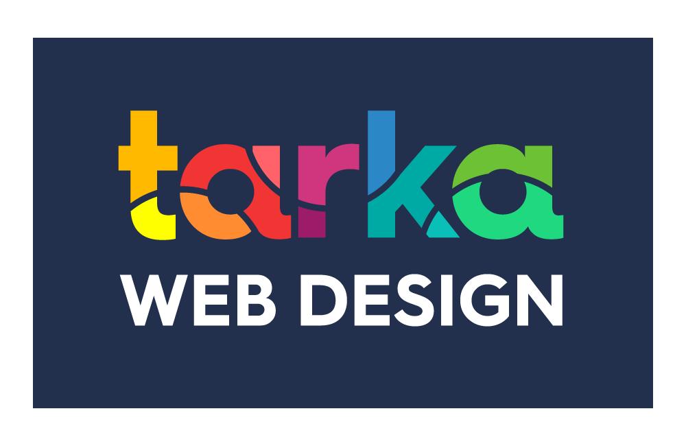 Tarka Web Design White Logo
